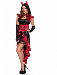 Costume demone sensuale per donna halloween
