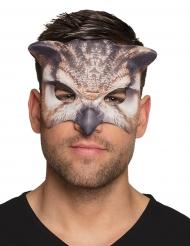Mezza maschera da gufo