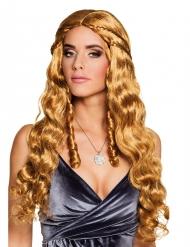 Parrucca lunga con trecce piccole per donna