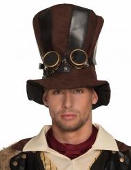 Cappello a cilindro steampunk per adulto