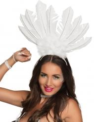 Copricapo brasiliano Bianco per donna