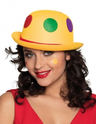 Cappello da clown à pois adulto