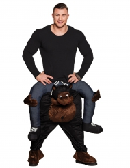 Costume Carry me Gorilla adulto