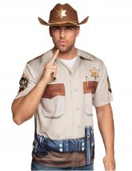 T-shirt Sceriffo uomo