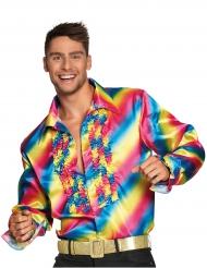 Camicia arcobaleno adulto