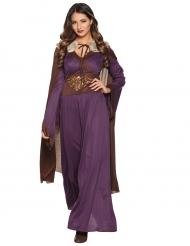 Costume da Dama del nord viola per donna
