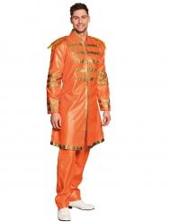 Costume pop arancione per uomo