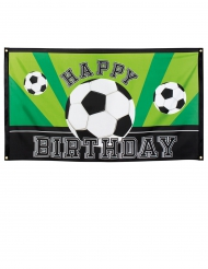 Banner happy Birthday Foot Party 90 x 150 cm