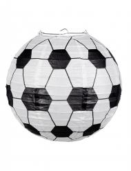Lanterna di carta a forma di pallone da calcio 25 cm