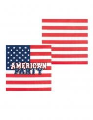 6 Bicchieri in cartone American Party