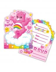 8 Inviti di compleanno Gli orsetti del cuore™