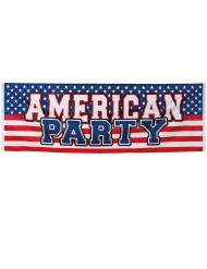 Banner American Party 220 x 74 cm