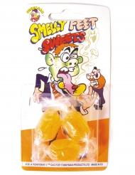 3 caramelle al gusto di piedi puzzolenti!
