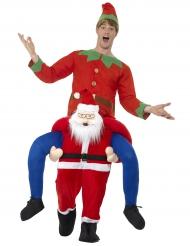 Costume da uomo a spalle di Babbo Natale da uomo