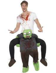 Costume Carry Me zombie per adulto