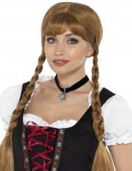 Collana nera bavarese per donna