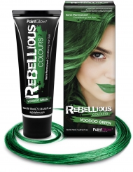 Colore semi permanente per capelli verde 70 ml