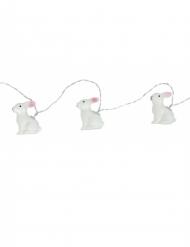 Ghirlanda luminosa coniglietti