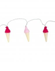Ghirlanda luminosa coni gelato