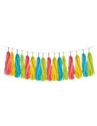 Ghirlanda con nappe multicolore Fiesta 20.3 cm x 2.5 m