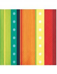 16 Tovaglioli Messicani 25x25 cm