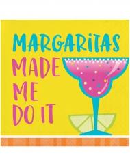 16 Tovaglioli Cocktail Margaritas