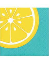 16 Tovaglioli in carta con Limone