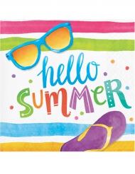 16 Tovaglioli Hello Summer 25x25 cm
