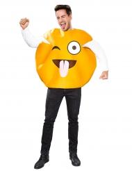 Costume emoticon adulto linguaccia