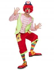Costume clown rodeo per adulto