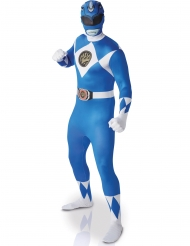Costume Power Rangers™ Blu Seconda Pelle