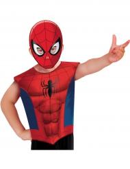 Maglietta e maschera Spiderman™ per bambino
