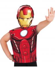 Maglia e maschera Iron Man™ per bambino
