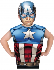 Image of T-shirt e maschera di Captain America™