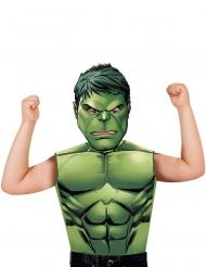 Image of T- shirt e maschera da Hulk™ bambino