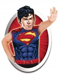 Maglietta Superman e maschera in cartone