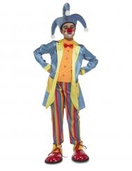 Costume da clown arcobaleno bambino