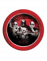 8 Piatti in cartone Star Wars 8 Gli ultimi jedi™ Capitan Phasma 23 cm
