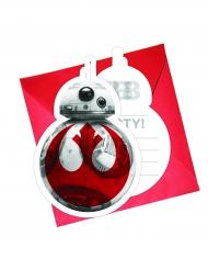 6 Inviti di compleanno Star Wars 8 Gli ultimi Jedi™