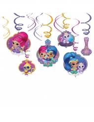 6 Decorazioni a spirale a sospensione Shimmer e Shine™