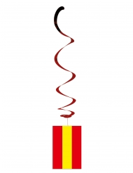6 Decorazioni da appendere bandiera spagna