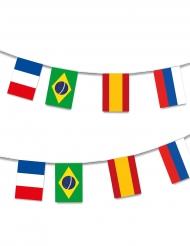 Ghirlanda in plastica 32 bandiere 13 m