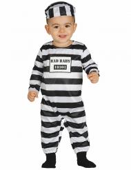 Costume da prigioniero bebe