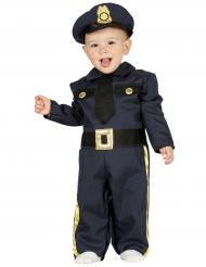 Costume da poliziotto bebè