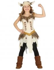 Costume da guerriera vichinga per bambina