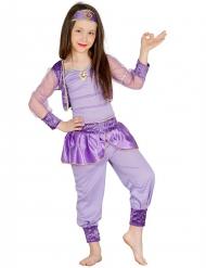Costume da ballerina orientale lilla bambina