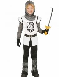 Costume cavaliere bianco per bambino