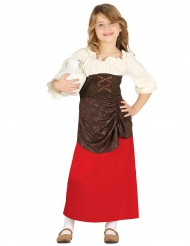 Costume da oste per bambina