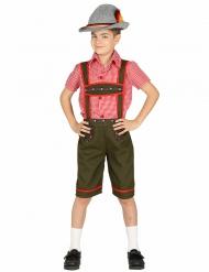Costume da bavarese bambino