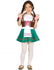 Costume da bavarese bambina